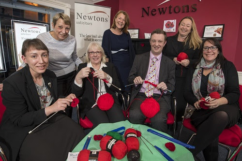 NEWS: Ripon businesses knitting for Remembrance — Newtons Solicitors