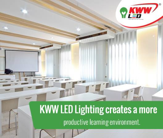 KWW LED Lighting creates a more productive environment