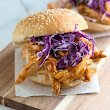 Tangy Barbecue Pulled Chicken Sandwich
