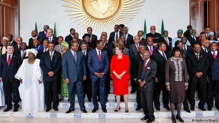 Dilma Rousseff in Afrika (50 Jahre der Afrikanischen Union), Mai 2013; Copyright: Agência Brasil***via Carlos Albuquerque