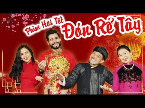 Phim hài tết ĐÓN RỂ TÂY | Trung Ruồi - Thái Sơn - Thái Dương