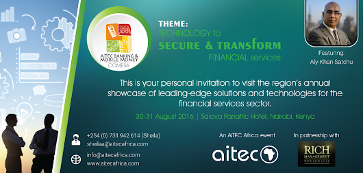 AITEC Banking & Mobile Money Conference Ticket & Blockchain Report Offer! – BitHub.Africa