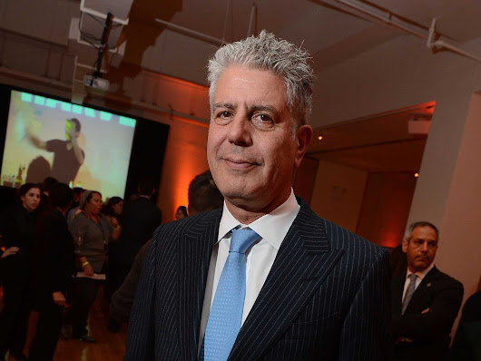 Anthony Bourdain Reveals His 10 Favorite Books