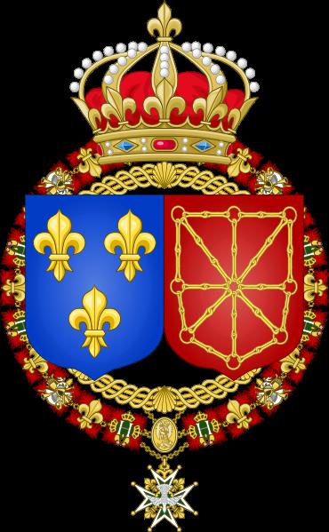 File:Coat of Arms of France & Navarre.svg