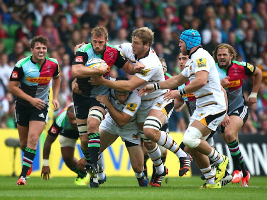 Result: Harlequins narrowly beat London Wasps - Sports Mole