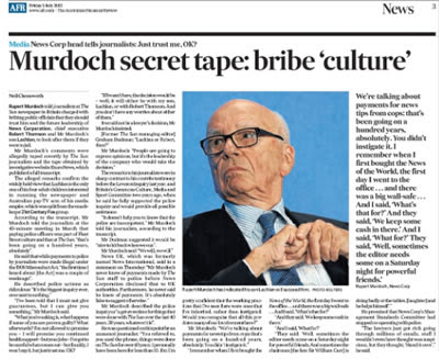 rupert murdochs dirty tricks