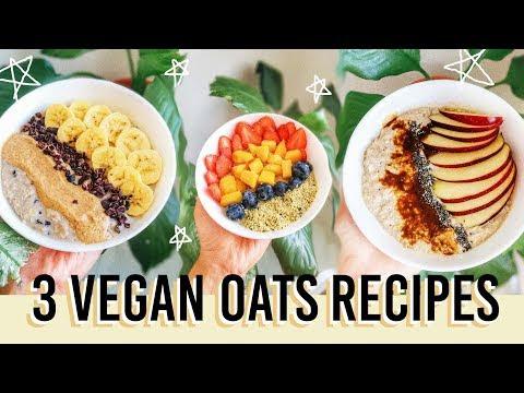 QUICK & HEALTHY OVERNIGHT OATS (Ramadan Sahur Recipes)
