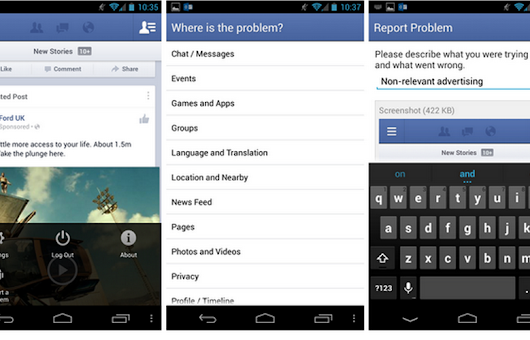 Facebook for Android se actualiza