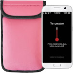 Climatecase - 800 Series Pouch for Most Cell Phones - Pink
