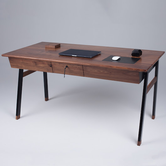 An Elegant Desk Inspired by James Bond - Design Milk