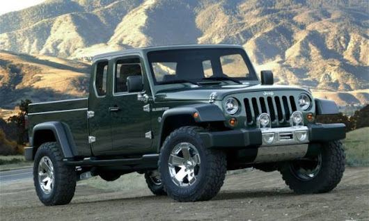 The Jeep Wrangler Pickup Is Becoming a Reality