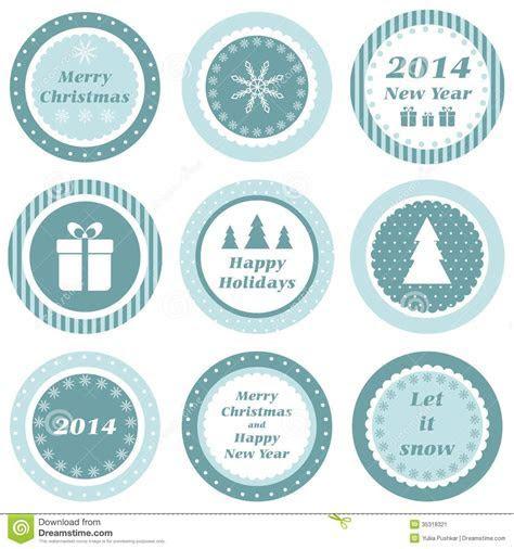 Christmas Tags Stock Image   Image: 35318321