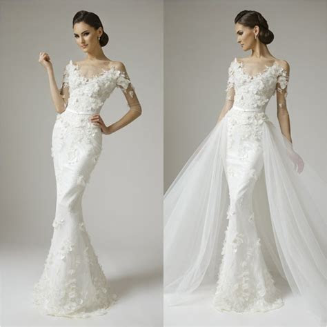 Top 19 Convertible Mermaid Wedding Dress With Detachable