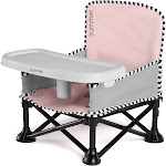 Summer Pop 'N Sit SE Booster Chair Sweetlife Edition, Bubble Gum