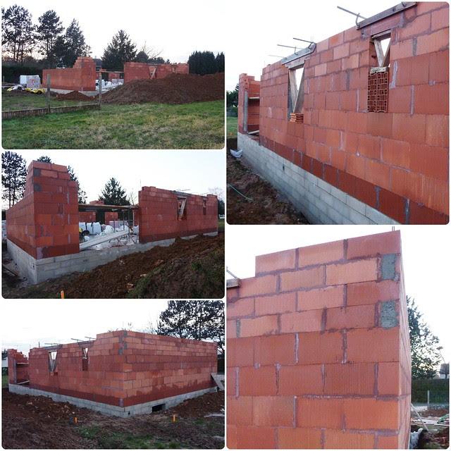 Chantier de construction de maison individuelle