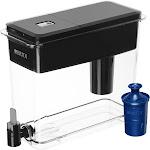 Brita UltraMax 18-Cup Water Dispenser, Jet Black