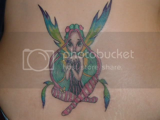 Modest Fairy Tattoos With Small Wings