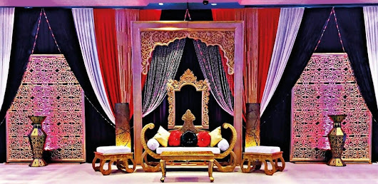 Indian Wedding Decorations London, UK | Asian Wedding Stages, Decor, Services