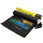 Lavievert Giant Black Big Felt Mat For Puzzle Storage Puzzles Saver, 3000piece Jigsaw Puzzle Mat, Long Box Package, No Folded Creases, Environmentally