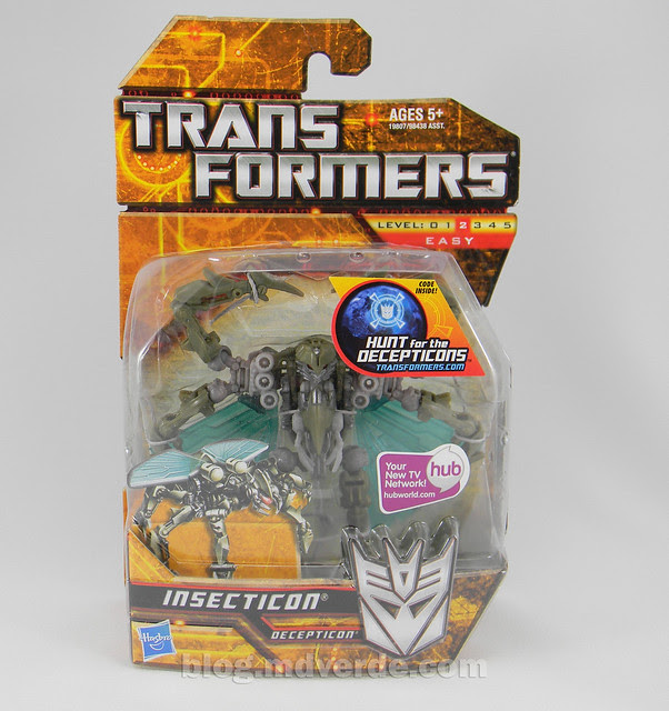 Transformers Insecticon HftD Scout - caja