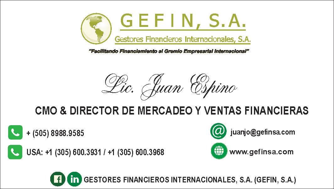 CMO & DIRECTOR DE MERCADEO Y VENTAS FINANCIERAS: