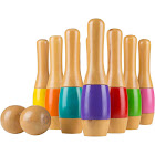 Hey! Play! Lawn Bowling Game/Skittle Ball- Indoor and Outdoor Fun for Toddlers,