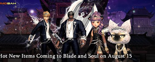 Hot New Items Coming to Blade and Soul on August 15