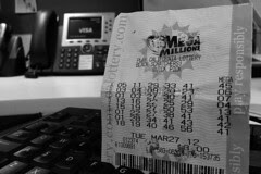 Lottery Fever in the City - MY own ticket