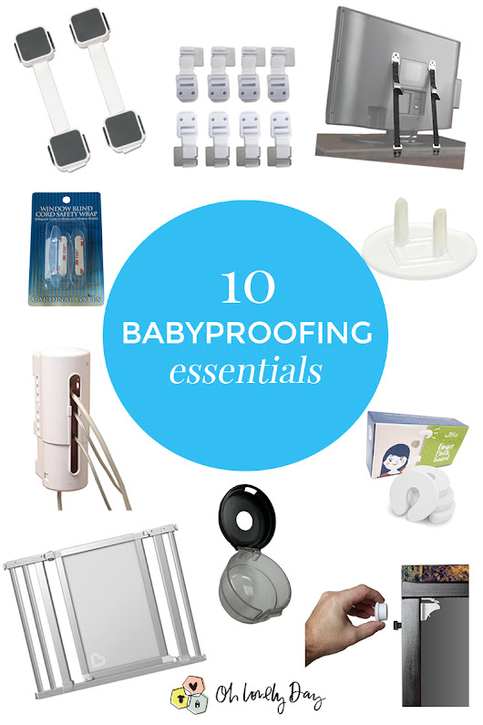 Must Have Baby-Proofing Products - Oh Lovely Day