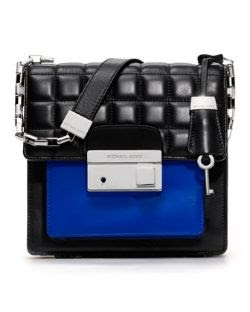 Michael Kors Gia Quilted Colorblock Crossbody