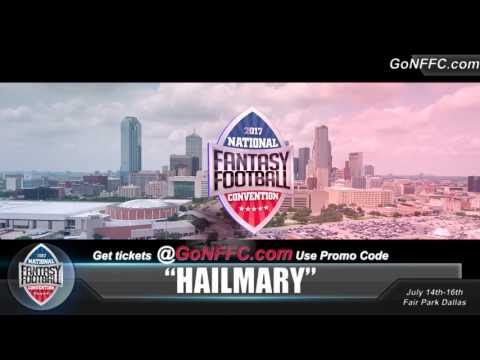 2017 National Fantasy Football Convention Coupon Code HAILMARY