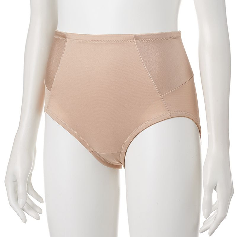Naomi & Nicole Inside Magic Shaping Brief 7094, Women's, Size: Small, Med Beige