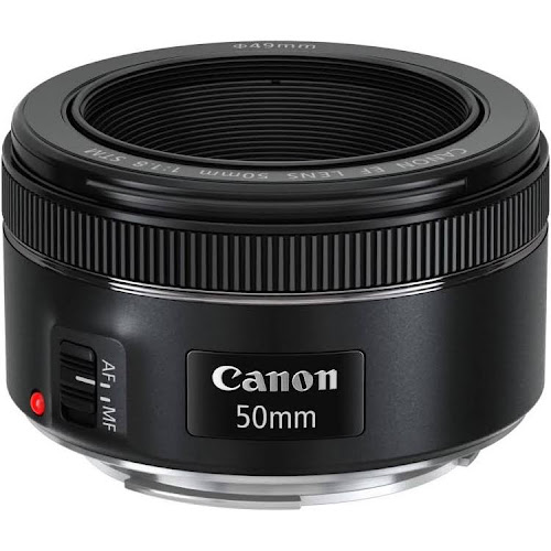 Canon EF Lens for Canon EF - 50mm - F/1.8