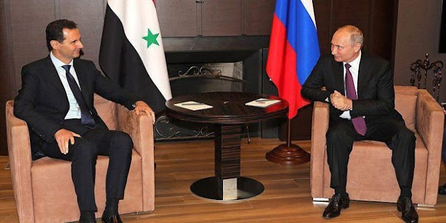 A summit meeting between Presidents al-Assad and Putin held in Sochi