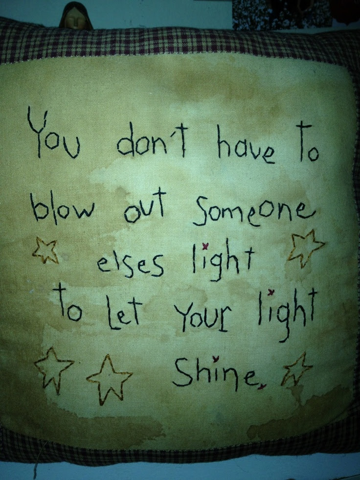 Quote Let Your Light So Shine Quotes