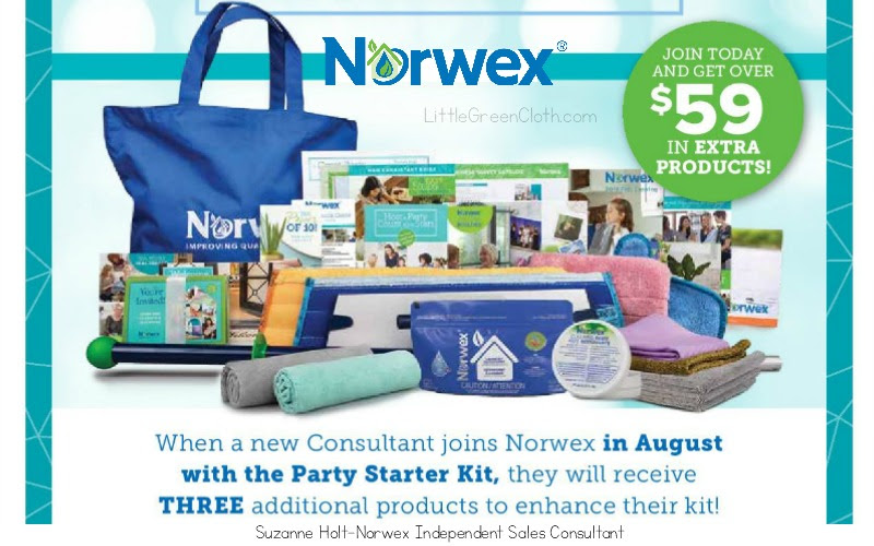August Is A Great Time To Join Our Norwex Team Norwex Products