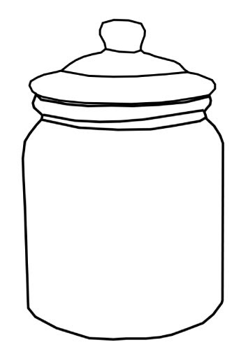 cookie jar clipart black and white Who_Stole_Cookie_Cookiejar