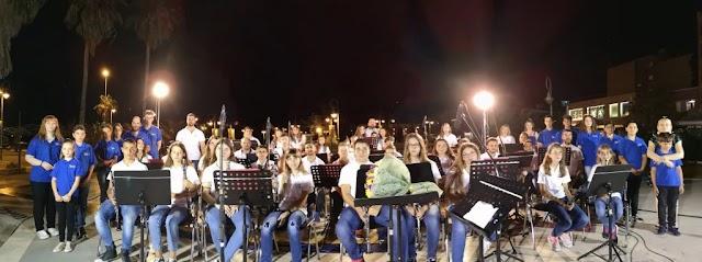 Εντυπωσίασε η Young Band της Δημοτικής Φιλαρμονικής Δερβενίου (φωτο-video)