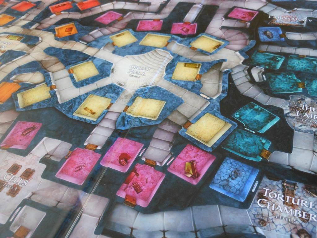 Dungeon! board