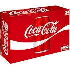 Coca-Cola Classic Coke - 24 pack, 12 fl oz cans