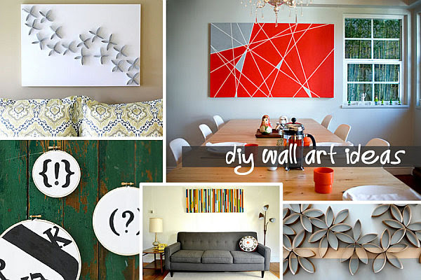 25 DIY Easy And Impressive Wall Art Ideas | Daily source for ...