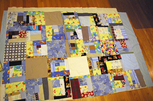 tom's birthday quilt