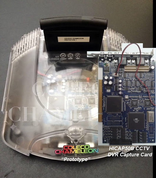 Coleco Chameleon Caught Using Capture Card In Fake Prototype
