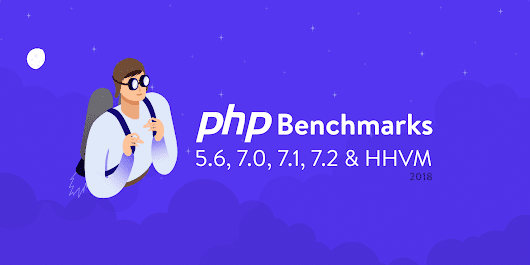 The Definitive PHP 5.6, 7.0, 7.1, 7.2 & HHVM Benchmarks (2018)
