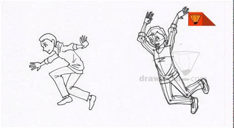 anime drawing intermediate  boy jumping  youtube