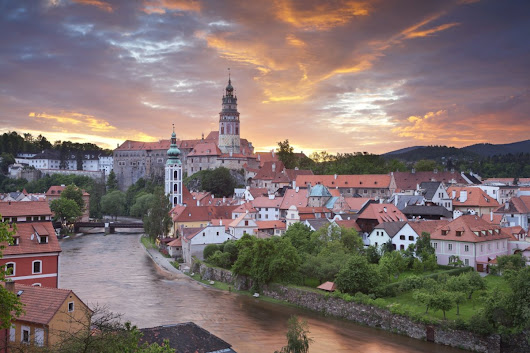 Five-Petalled Rose festival in Cesky Krumlov