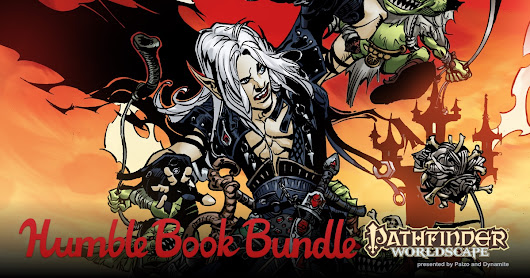 Humble RPG Book Bundle: Pathfinder Worldscape presented Paizo and Dynamite
