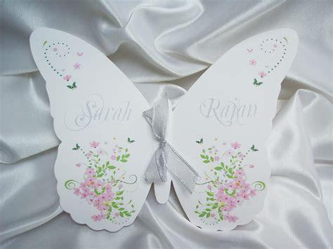 free wedding program templates butterflys   Butterfly