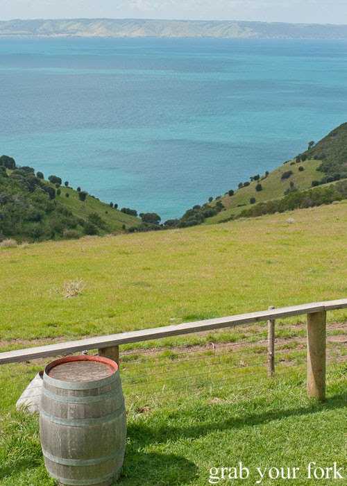 Gully overlooking Backstairs Passage, Kangaroo Island