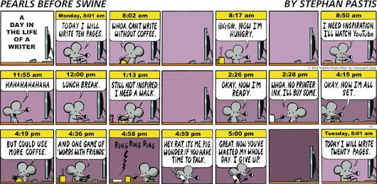 Pearls Before Swine by Stephan Pastis, July 27, 2014 Via @GoComics